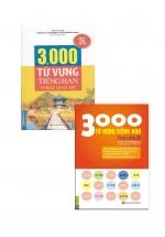 Combo 3000 Từ Vựng Tiếng Hàn Theo Chủ Đề (2 Cuốn)