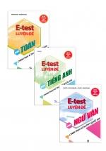 Combo Sách E - Test Luyện Đề Chinh Phục Kì Thi THPT Quốc Gia Khối D: Toán - Văn - Anh