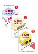 Combo Sách E - Test Luyện Đề Chinh Phục Kì Thi THPT Quốc Gia Khối C: Văn - Sử - Địa