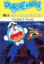 Doraemon Truyện Dài - Tập 4 - Nobita Và Lâu Đài Dưới Đáy Biển
