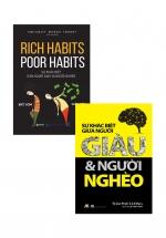 Combo Sự Khác Biệt Giữa Người Giàu Và Người Nghèo (2 Cuốn)