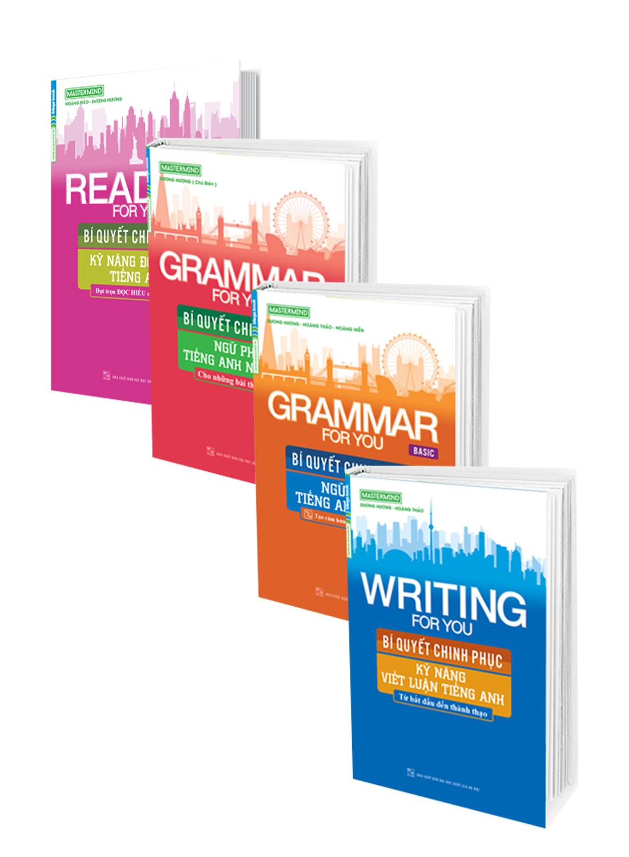 Combo 4 Cuốn Sách Bí Quyết Chinh Phục Tiếng Anh
