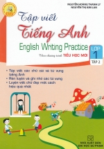 Tập Viết Tiếng Anh Lớp 1 Tập 2 Theo Chương Trình Tiểu Học Mới