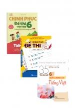 Combo Chinh Phục Đề Thi Vào Lớp 6 Môn Toán + Tiếng Việt + Tiếng Anh