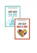 Combo Sách Chăm Sóc Sức Khỏe: Làm Sạch Tâm Hồn - Các Bài Tập Thiền + Làm Sạch Mạch Máu