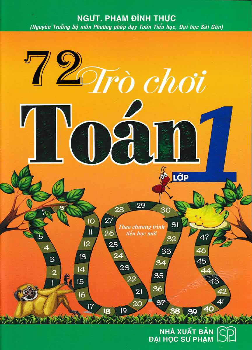 72 Trò Chơi Toán Lớp 1 Theo Chương Trình Tiểu Học Mới