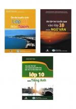 Combo Sách Luyện Thi Vào Lớp 10 Phú Yên Toán + Văn +  Anh