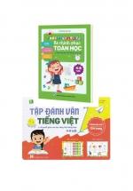 Combo Tập Đánh Vần Tiếng Việt + Bé Chinh Phục Toán Học Cho Trẻ Từ 4 Đến 6 Tuổi Và Bộ Thẻ Flashcard Chữ Số