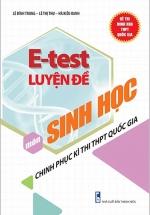 E - Test Luyện Đề Chinh Phục Kì Thi THPT Quốc Gia Môn Sinh Học