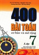 400 Bài Toán Cơ Bản Và Mở Rộng Lớp 7