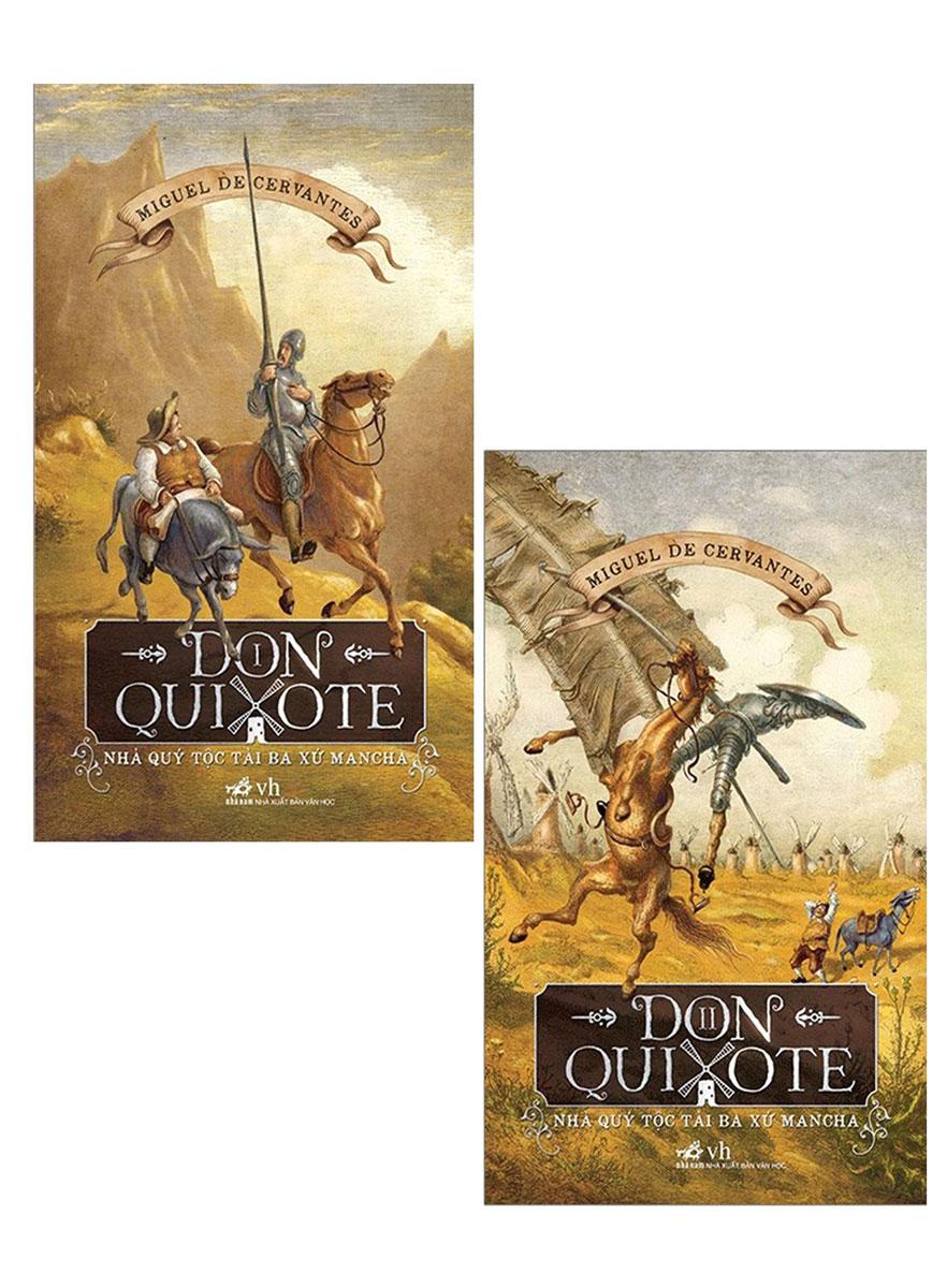 Combo Don Quixote - Nhà Quý Tộc Tài Ba Xứ Mancha (2 Cuốn)