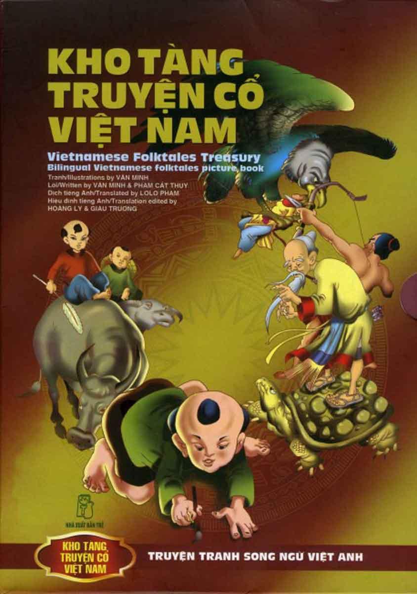 Kho Tàng Truyện Cổ Việt Nam - Bộ Truyện Tranh Song Ngữ Việt Nam ( 9 Cuốn )