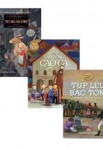 Combo Sách Văn Học Thiếu Nhi: Trong Gia Đình + Những Tấm Lòng Cao Cả + Túp Lều Bác Tom
