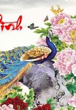 Tranh Treo Tường Chim Công 01