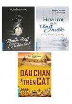 Combo 3 Cuốn Muôn Kiếp Nhân Sinh + Hoa Trôi Trên Sóng Nước + Dấu Chân Trên Cát