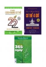 Combo Sách Về Sức Khỏe Giúp Bạn Xây Dựng Một Lối Sống Lành Mạnh