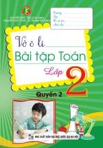 Vở Ô Li Bài Tập Toán Lớp 2 Quyển 2 (Khang Việt)