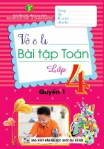 Vở Ô Li Bài Tập Toán Lớp 4 Quyển 1 (Khang Việt)