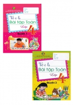 Combo 2 Quyển Vở Ô Li Bài Tập Toán Lớp 4 (Khang Việt)