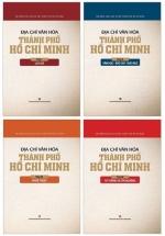 Combo Địa Chí Văn Hóa Thành Phố Hồ Chí Minh (Bộ 4 Tập)