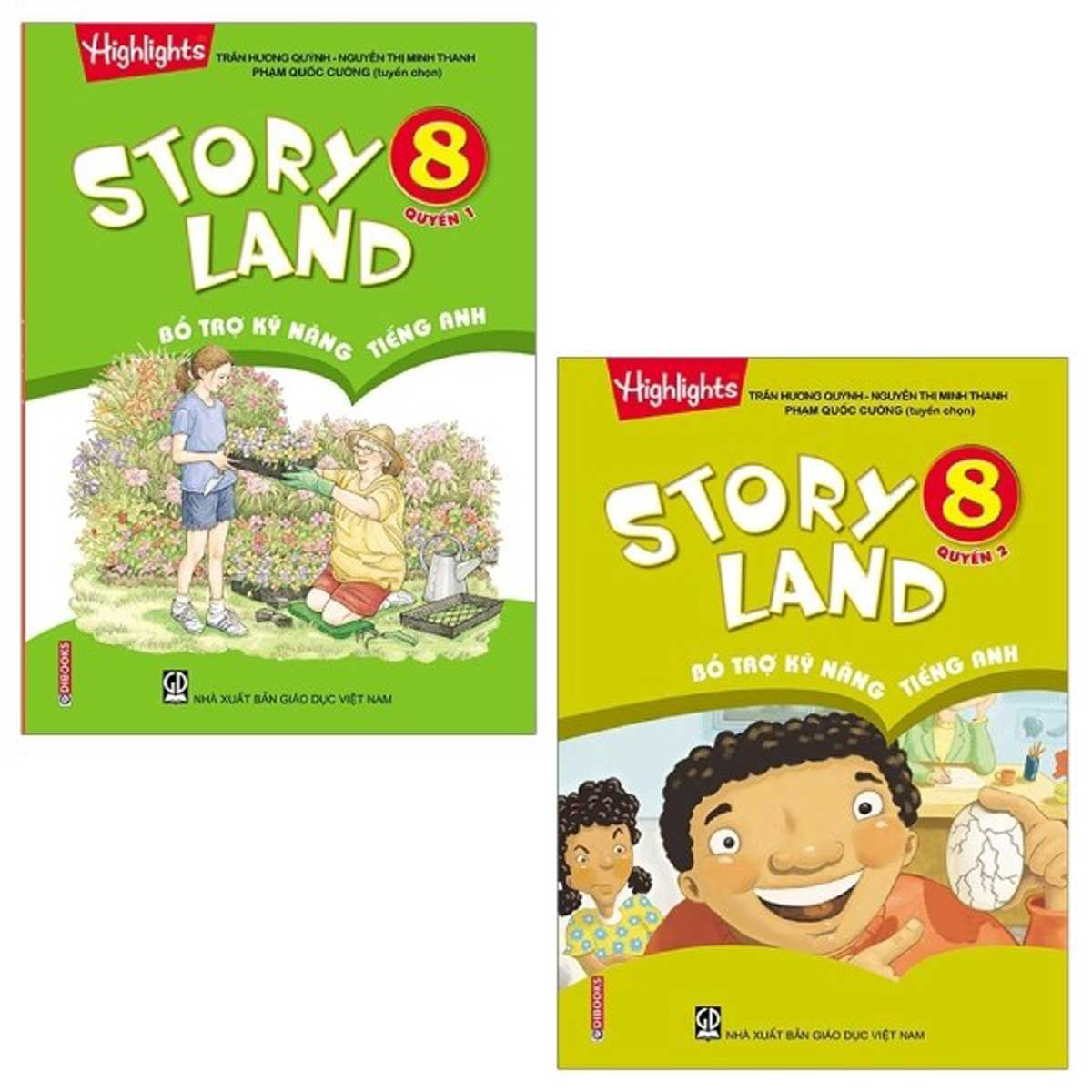 Combo Story Land - Bổ Trợ Kỹ Năng Tiếng Anh 8 (Bộ 2 Cuốn)