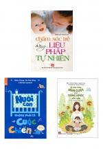 Combo Sách Nuôi Dạy Trẻ Từ 0-6 Tháng Tuổi Theo Phương Pháp Khoa Học