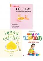 Combo Sách Nuôi Dạy Con Dưới 1 Tuổi - Con Khỏe Mạnh + Mẹ Yên Lòng