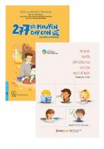 Combo 277 Lời Khuyên Dạy Con Của Giáo Sư Shichida + Mẹ Nhật Truyền Cảm Hứng Học Cho Con Như Thế Nào? (Bộ 2 Cuốn)