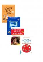 Combo Sách Để Con Được Ốm + Nuôi Con Không Phải Cuộc Chiến + Kỷ Luật Không Nước Mắt + Phát Triển Năng Lực Trí Tuệ Cho Con Dưới 7 Tuổi Theo Phương Pháp Shichida