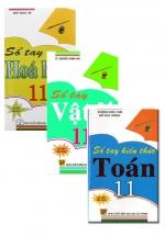Combo Sổ Tay Toán + Vật Lý + Hóa Học Lớp 11