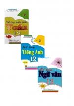 Combo Sổ Tay Toán + Tiếng Anh + Ngữ Văn Lớp 12