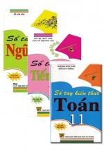 Combo Sổ Tay Toán + Tiếng Anh + Ngữ Văn Lớp 11