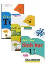 Combo Sổ Tay Toán + Hóa Học + Sinh Học Lớp 11