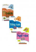 Combo Sổ Tay Toán + Tiếng Anh + Ngữ Văn Lớp 10