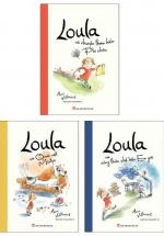 Combo Loula Và Chuyến Thám Hiểm Phi Châu + Loula Và Công Thức Chế Biến Em Gái + Loula Và Quái Vật Mister (Bộ 3 Cuốn)
