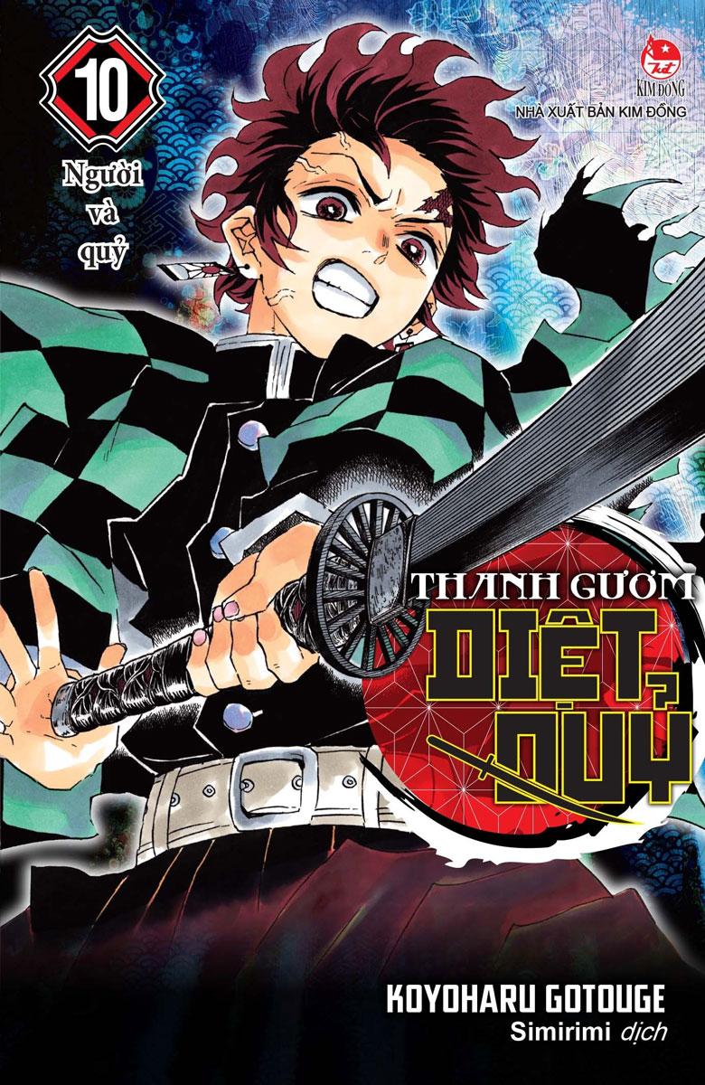 Thanh Gươm Diệt Quỷ - Kimetsu No Yaiba - Tập 10: Người Và Quỷ