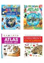 Combo Bộ Sách Atlas Động Vật Hay Nhất Cho Trẻ Từ 6-10 Tuổi