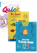 Combo Bộ Sách Tiếng Anh Cho Bé Từ 3-6 Tuổi