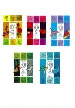 Combo Sách Tô Màu Cho Trẻ 3 Tuổi Về Chủ Đề Thiên Nhiên