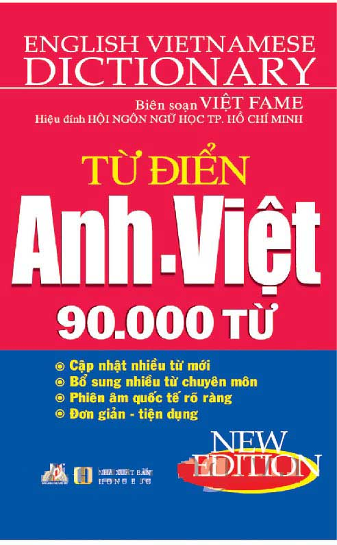 Từ Điển Anh Việt 90000 Từ - EBOOK/PDF/PRC/EPUB