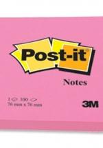Giấy Notes 3x3 3M 654 Hồng
