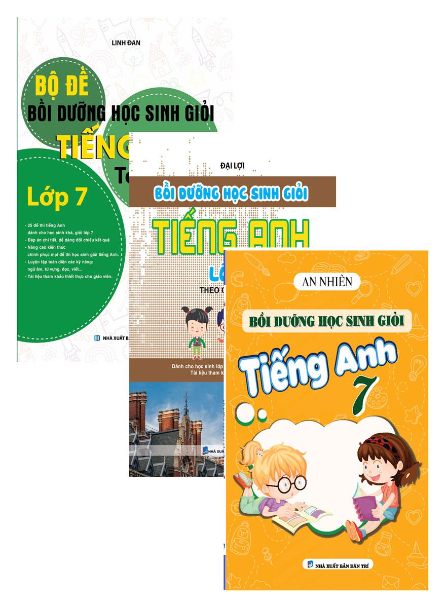Combo Bồi Dưỡng Học Sinh Giỏi Tiếng Anh Lớp 7 (Bộ 3 Cuốn)