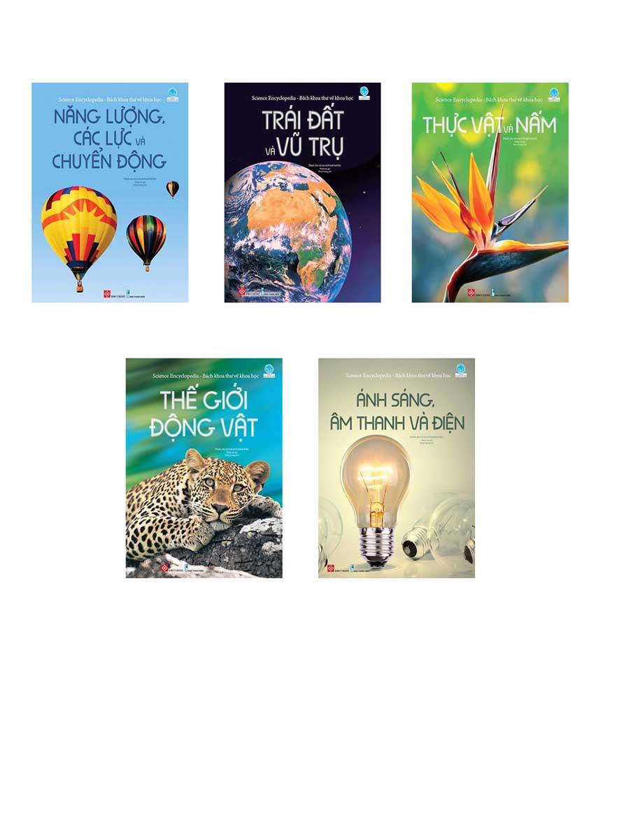 Combo Science Encyclopedia - Bách Khoa Thư Về Khoa Học (Bộ 5 Cuốn)