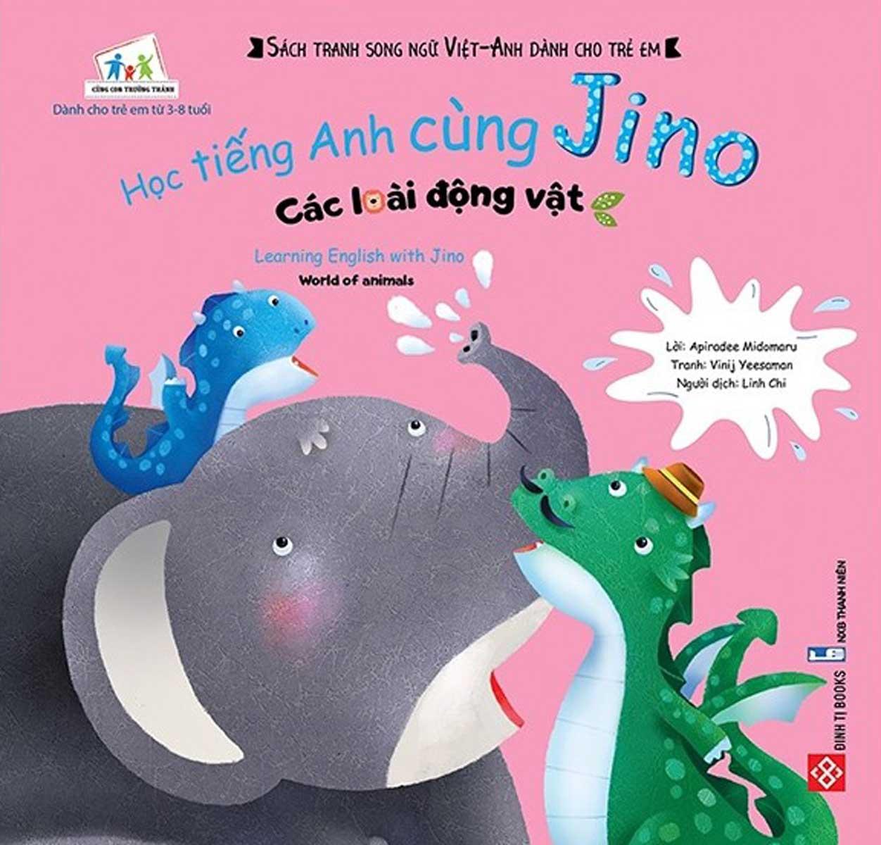 Học Tiếng Anh Cùng Jino - Learning English With Jino - Các Loài Động Vật - World Of Animals