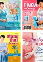 Combo Sách Thai Giáo ( Bộ 4 cuốn )