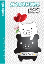 5 Quyển Tập Thuận Tiến 200 Trang SV Monokuro Oly-Ngang
