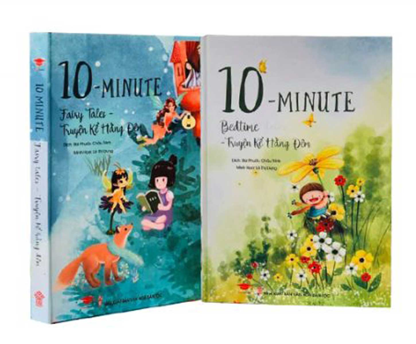 Combo Truyện Song Ngữ - Truyện Kể Hằng Đêm: 10 Minute Fairy Tales + 10 Minute Bedtime Stories