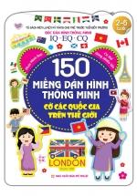 150 Miếng Dán Hình Thông Minh - Cờ Các Quốc Gia Trên Thế Giới
