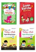 Combo Luyện Viết Chữ Nhớ Từ Vựng Tiếng Anh Dành Cho Học SInh Lớp 3