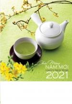 Lịch Lò Xo 7 Tờ 2021 40x60 Cm - An Nhiên - HT83